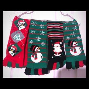Holiday Toe Socks